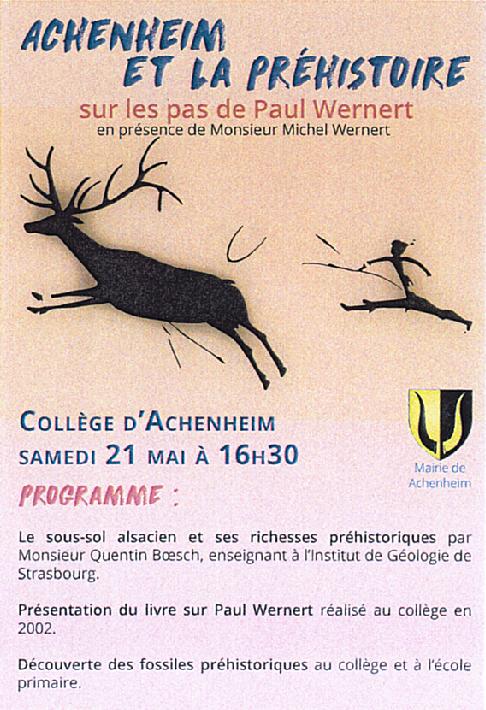 16 05 13 achenheim et la prehistoire