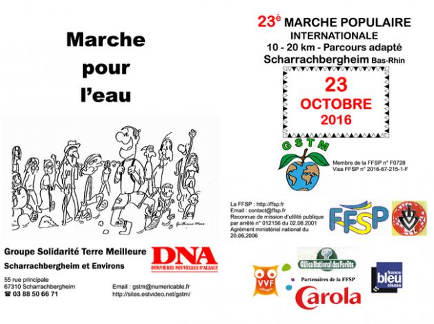 2016 10 11 marche populaire scharrachbergheim 2016