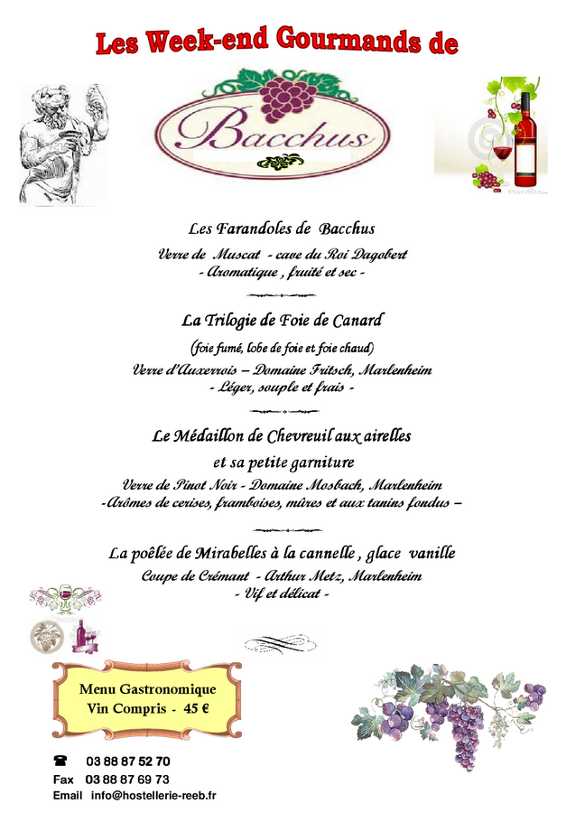 2016 10 17 hostellerie reeb week end gourmand de bacchus