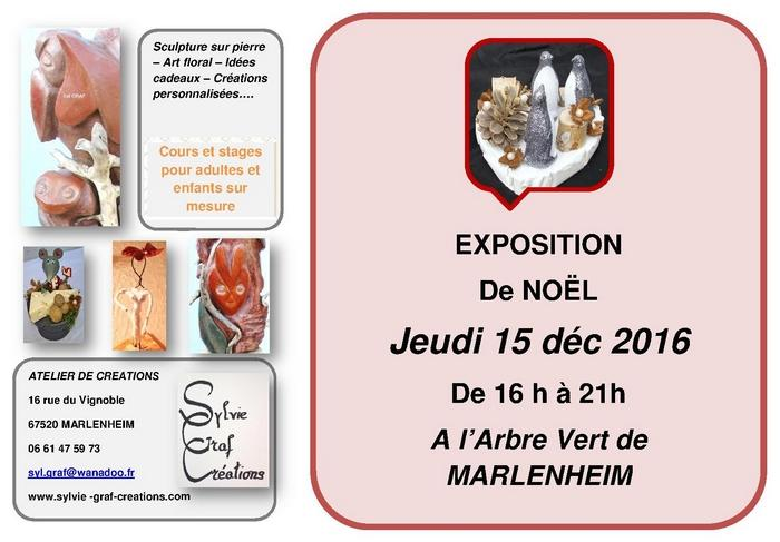 2016 12 12 exposition sylvie graf creations a marlenheim