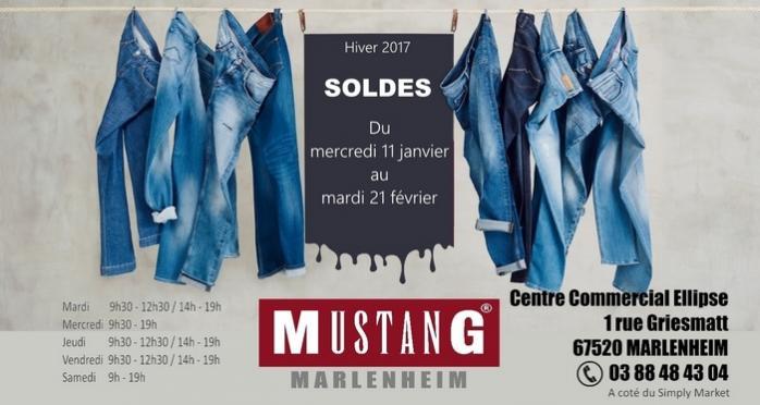 2017 01 10 mustang jeans marlenheim soldes janvier 2017