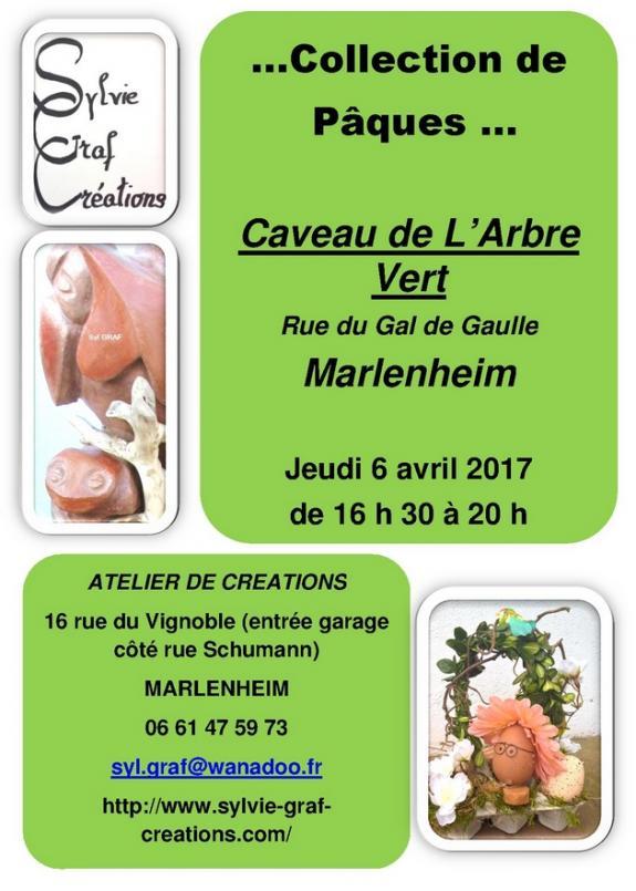 2017 03 27 exposition sylvie graf creations a marlenheim