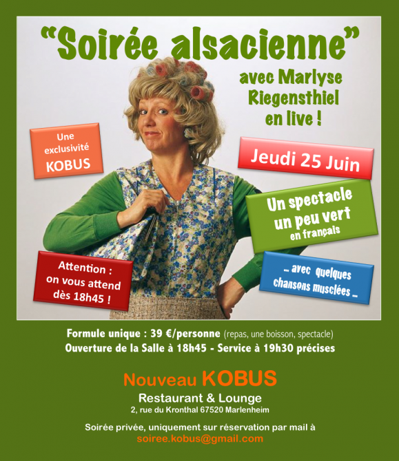 Invitation soire e alsacienne