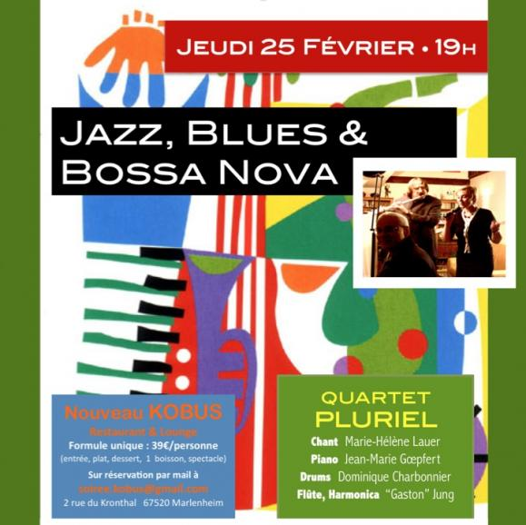Soire e jazz blues bossa