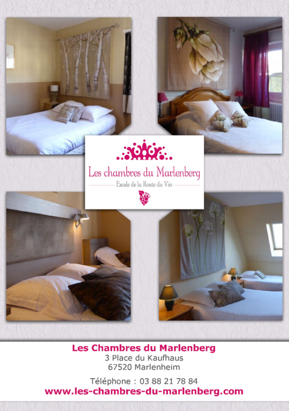 les chambres du marlenberg à marlenheim