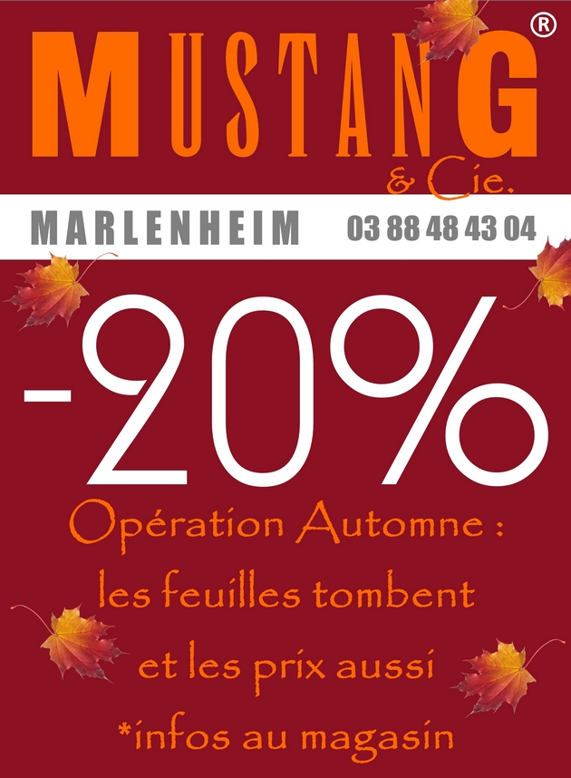 2017 10 05 mustang jeans marlenheim promo octobre automne 2017