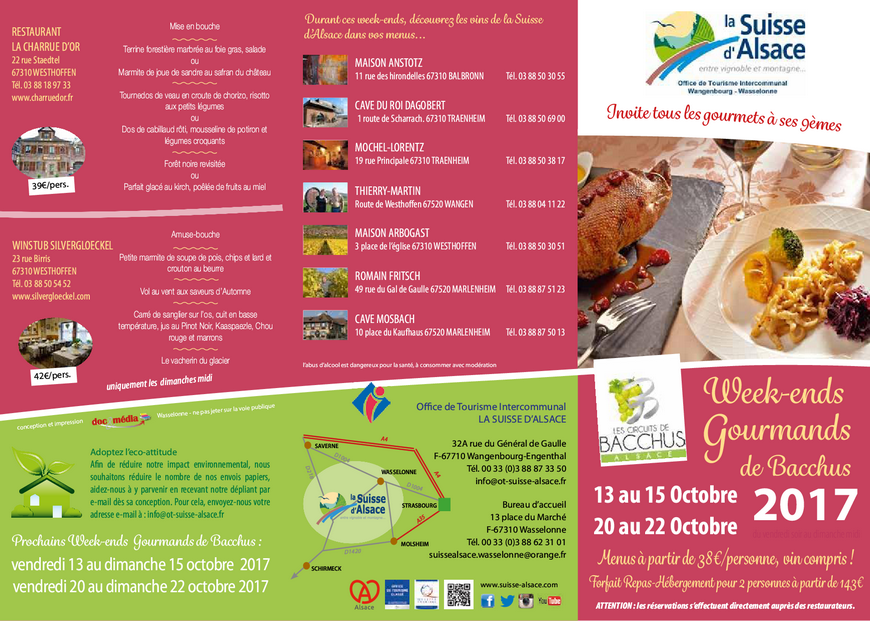 2017 10 octobre week end gourmand de bacchus