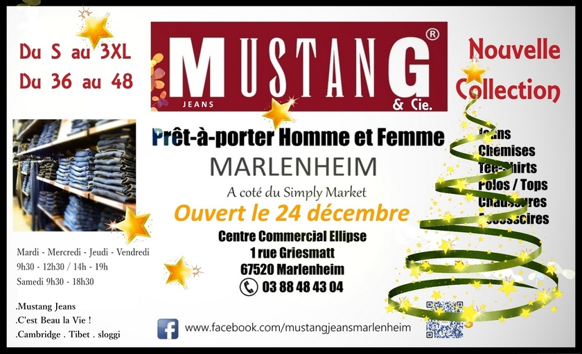 2017 12 05 nouvelle collection mustang jeans marlenheim