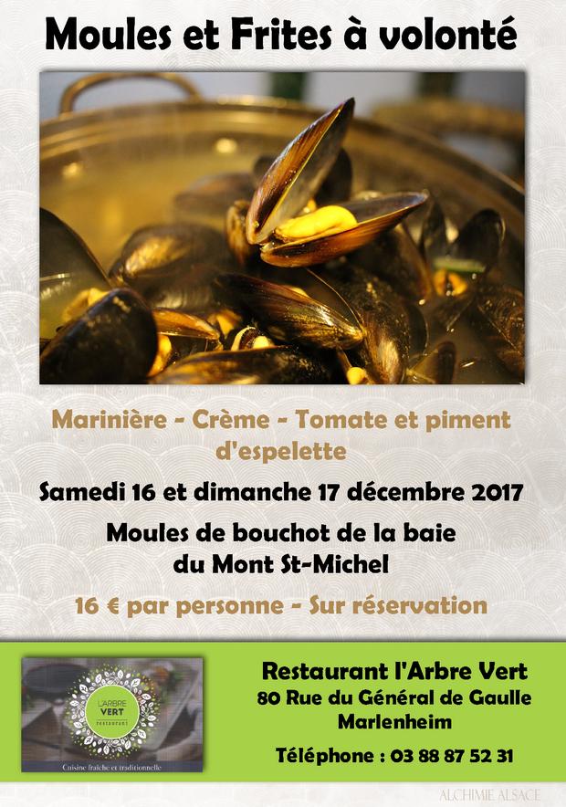 2017 12 06 moules et frites a volonte restaurant l arbre vert a marlenheim