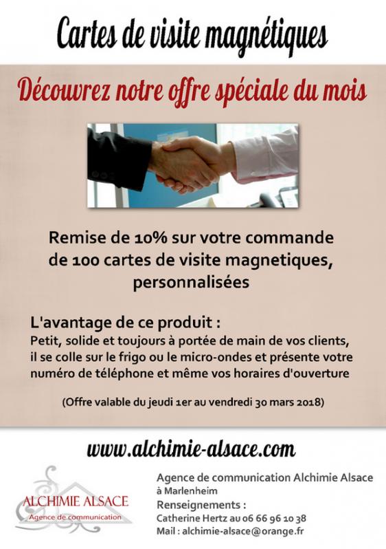 2018 02 28 alchimie alsace offre speciale cartes de visite mars 2018
