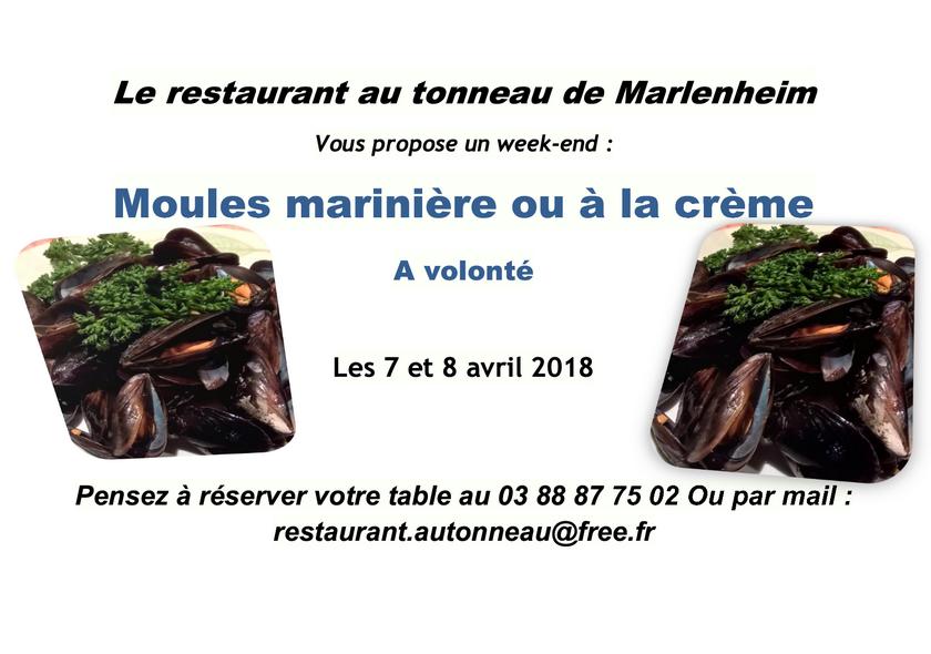 2018 03 07 restaurant au tonneau moules a volonte