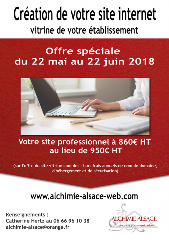 2018 05 18 alchimie alsace offre speciale creation de site internet