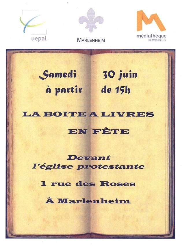 2018 06 15 la boite a livres en fete a marlenheim