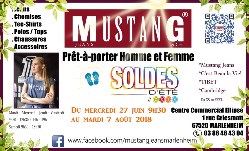 2018 06 20 soldes d ete boutique mustang jeans a marlenheim