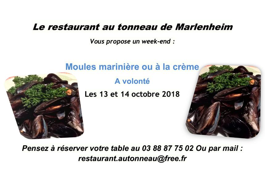 2018 09 18 restaurant au tonneau moules a volonte octobre 2018