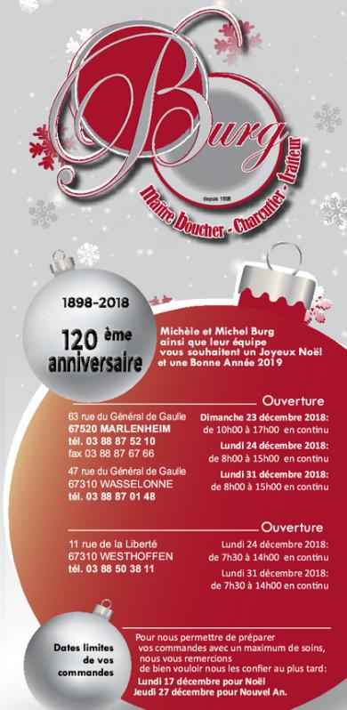 2018 11 27 boucherie traiteur burg carte de fin d annee 2018
