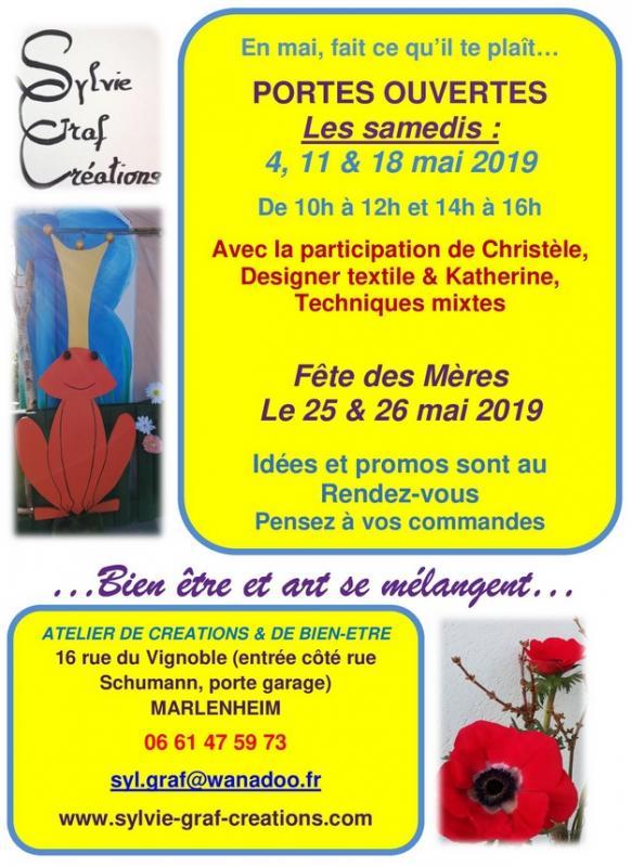2019 04 30 portes ouvertes mai 2019 sylvie graf creations a marlenheim