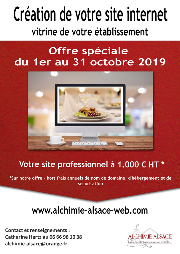 2019 09 26 alchimie alsace offre speciale creation de sites internet