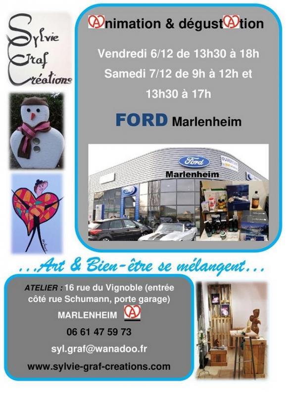 2019 12 02 sylvie graf creations chez ford a marlenheim