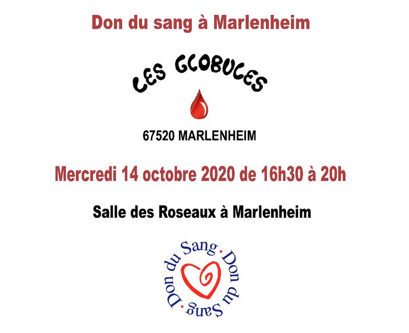 2020 10 14 don du sang octobre 2020 a marlenheim