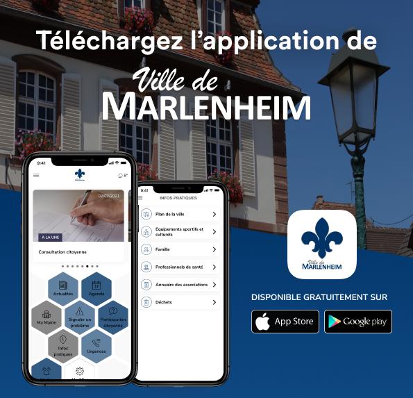 2021 03 02 article la ville de marlenheim lance son application mobile