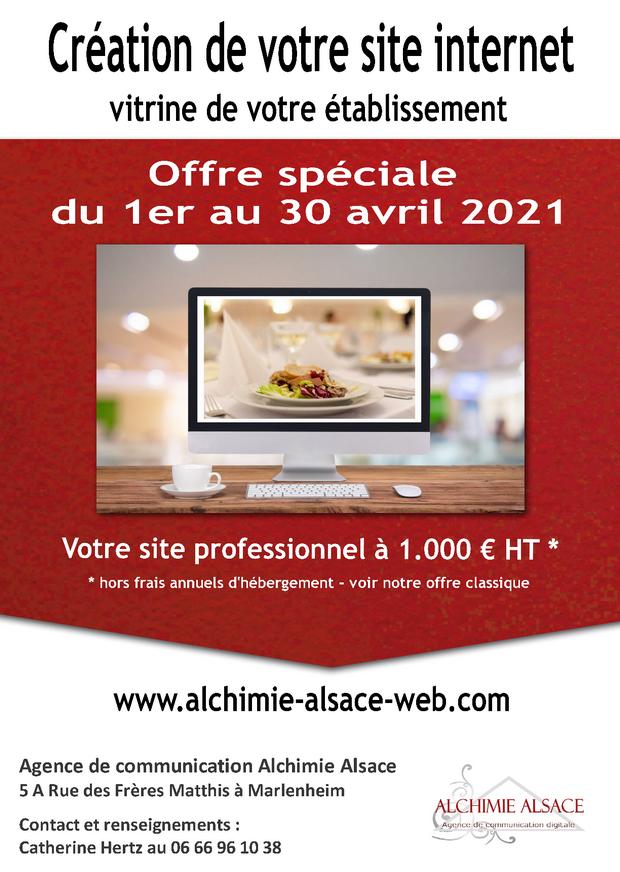 2021 04 01 alchimie alsace web offre speciale creation de site internet