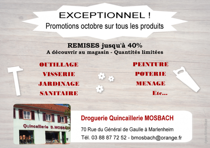 2021 10 31 promotions octobre quincaillerie mosbach
