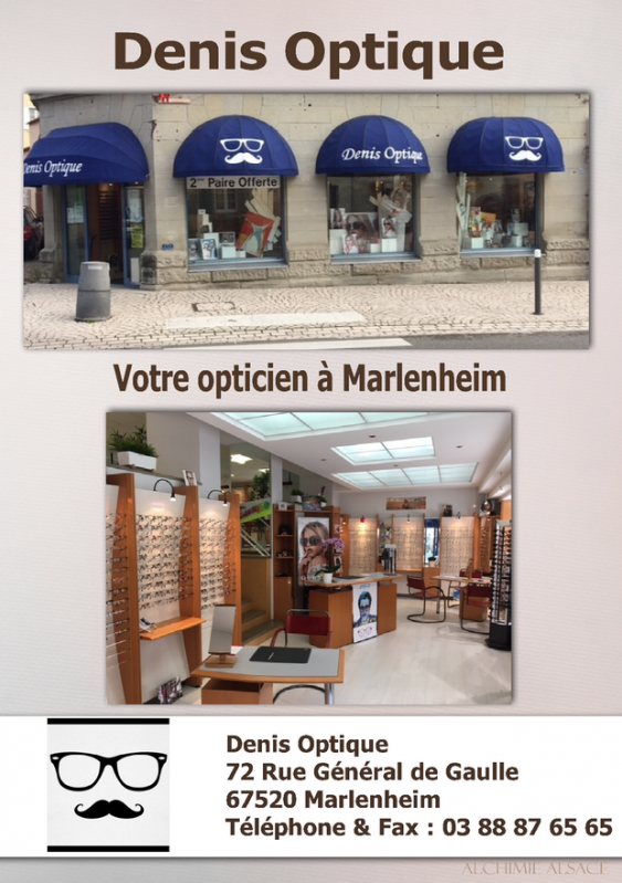 Denis optique opticien marlenheim