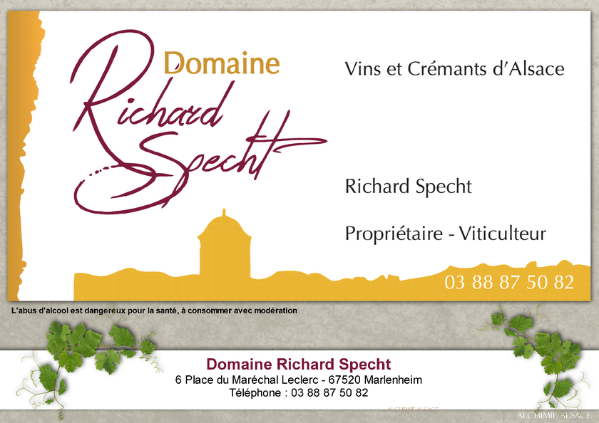 Domaine richard specht marlenheim