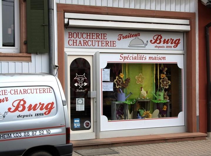 Boucherie Burg à Westhoffen