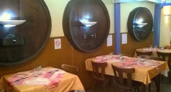 Restaurant au tonneau salle 1